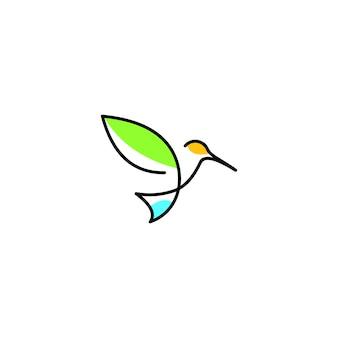 Oiseau contour modèle graphique de conception abstraite télécharger