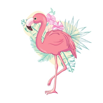 Oiseau flamingo