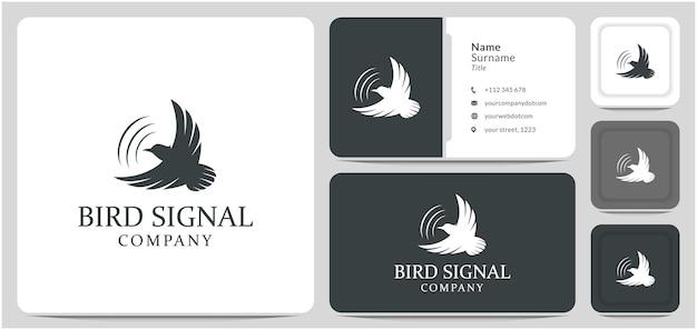 Oiseau signal logo conception son guérison énergie guérison chamanique guérison oiseau mouche