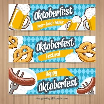 Oktoberfest, 3 bannières