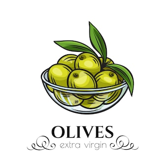 Olives dans un bol