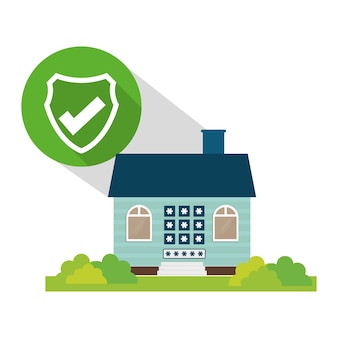 Ombre de bouton mot de passe politique de sécurité à la maison