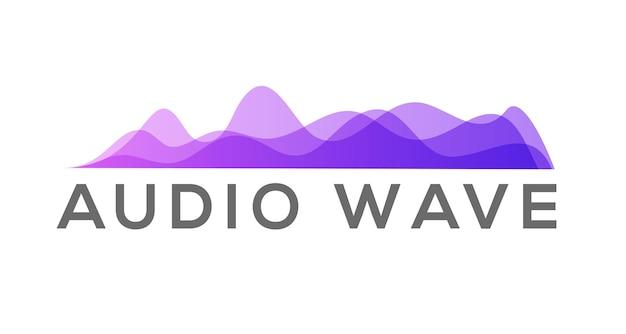 Ondes de mouvement colorées d'amplitude. ensemble de vecteurs d'onde sonore de musique d'égaliseur abstrait. graphique numérique.