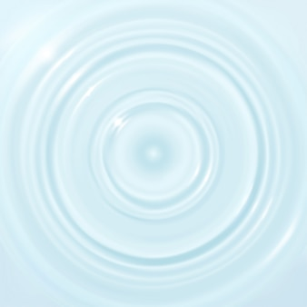 Ondulation, éclaboussure d'eau, vagues à la surface d'une goutte.