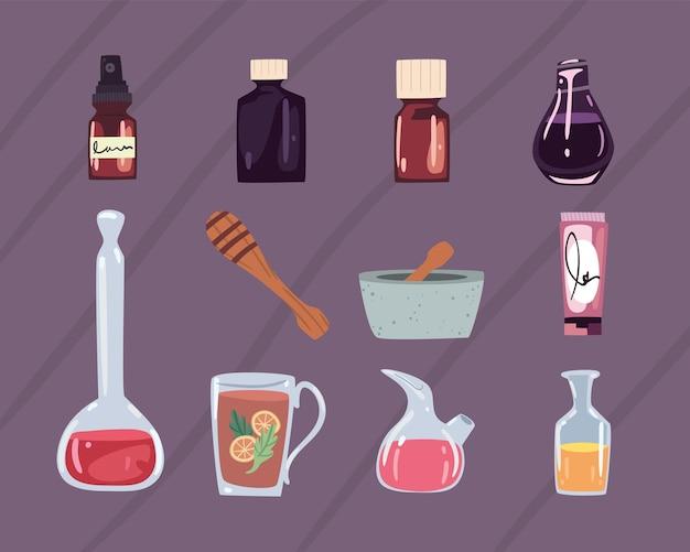 Onze icônes de bien-être spa