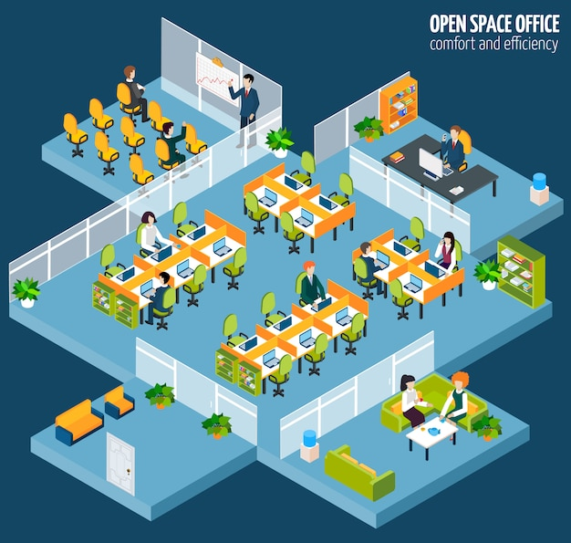 Open space office