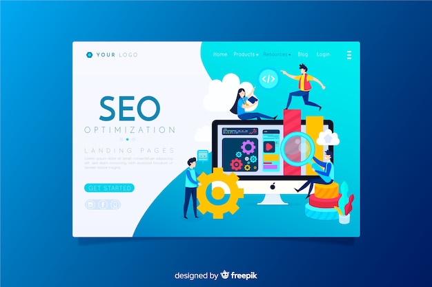 Optimisation seo page de destination