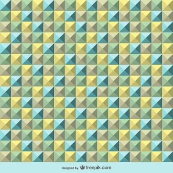 Optique rétro art motif géométrique