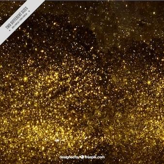 Or Glitter Background Vecteur gratuit
