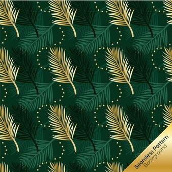 Or tropical feuilles sans soudure