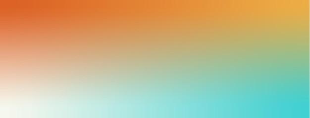 Orange, ambre, blanc, fond d'écran dégradé bleu tiffany illustration vectorielle.