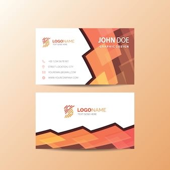 Orange carte de visite