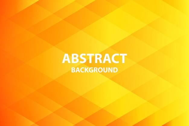 Orange douce et foncé avec fond abstrait jaune