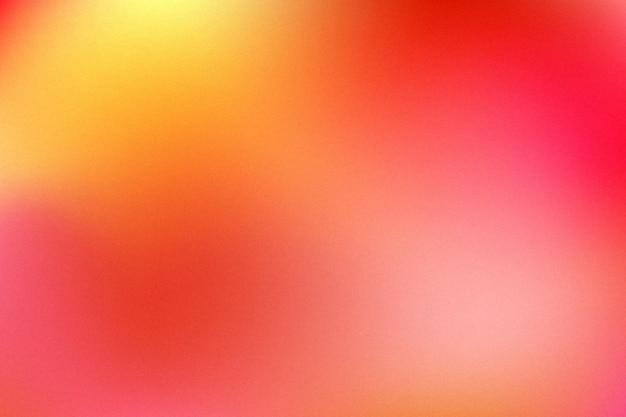 Orange rouge floue motif dégradé multi couleur lisse style aquarelle moderne toile de fond