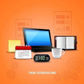 Orange time management realistic