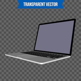 Ordinateur portable, modèle de style 3d isométrique pour ordinateur portable.