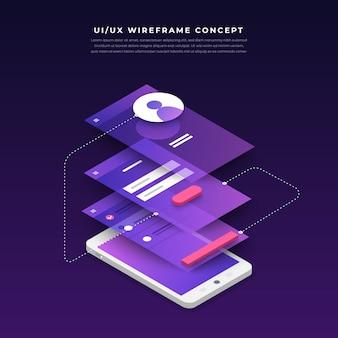Organigramme de l'interface utilisateur