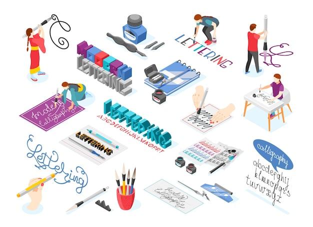 Organigramme de lettrage