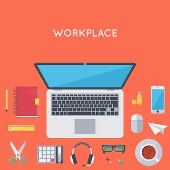 Organisation de l'espace de travail personnel