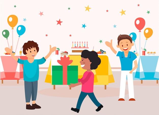 Organisation et menu pour les fêtes d'enfants.