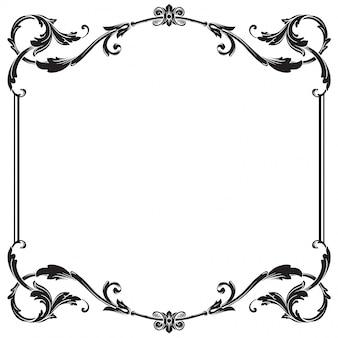 Ornement baroque décorer