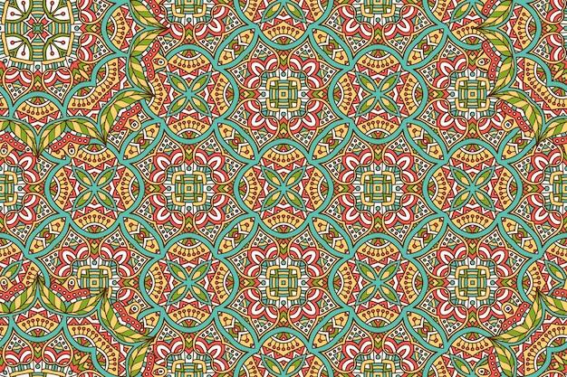 Ornement beau fond élément de cercle géométrique fait en vecteur