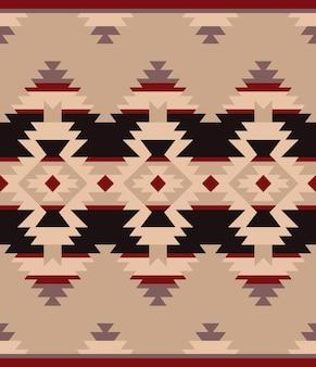 Ornement indien amérindien. texture ethnique géométrique colorée transparente tribale
