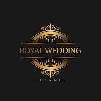 Ornement de luxe de logo