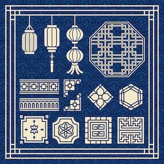 Ornement de nouvel an chinois