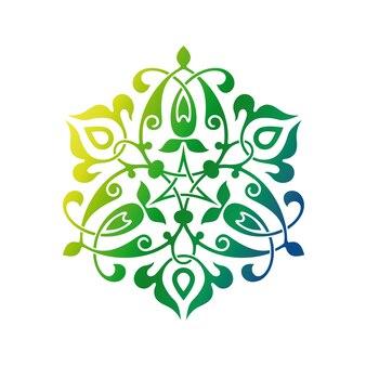 Ornement oriental arabe