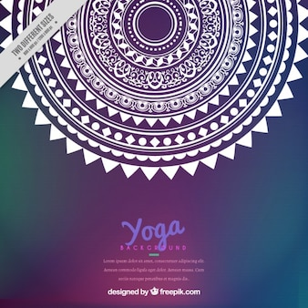 Ornemental yoga contexte