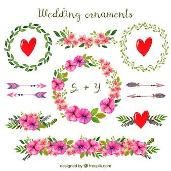 Ornements de mariage