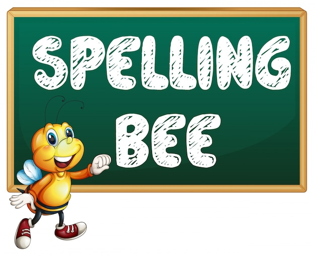 Orthographe abeille