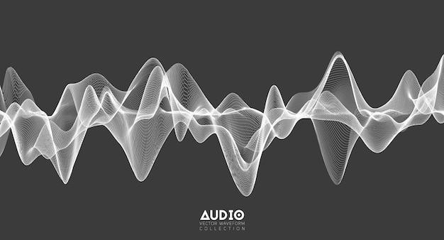 Oscillation du pouls de la musique blanche
