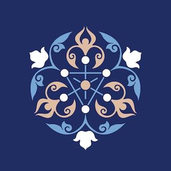 Ottoman motif décoratif