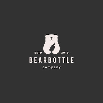 Ours bouteille logo