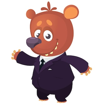 Ours de dessin animé