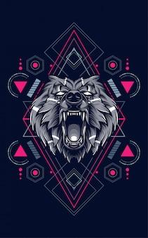 Ours géométrie sacrée