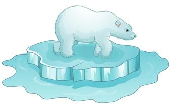 Ours polaire vecteurs et photos gratuites - Dessin banquise ...