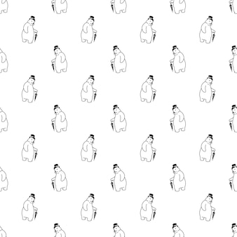 Ours polaire transparente motif chapeau haut de forme parapluie personnage de dessin animé