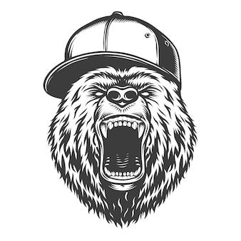 Ours de style logo vintage