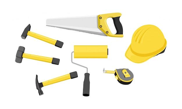 Outil de construction. illustration vectorielle
