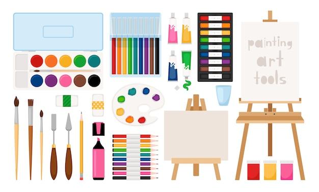 Outils d'art de peintre
