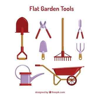 Outils de jardinage nécessaires