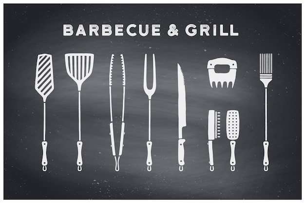 Outils pour barbecue et grill