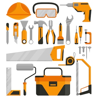 Des outils prêts à être utilisés pour le travail
