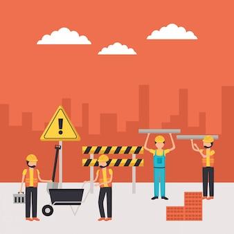 Ouvrier de construction
