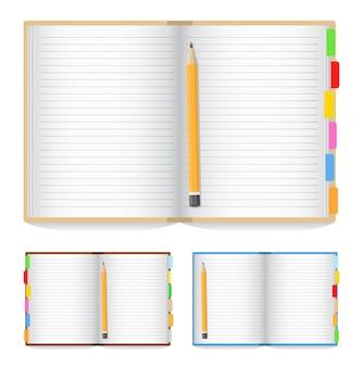 Ouvrir le cahier