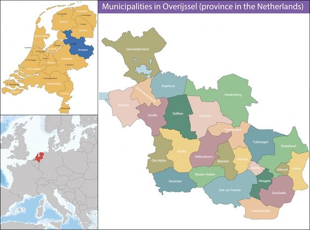 Overijssel est une province des pays-bas