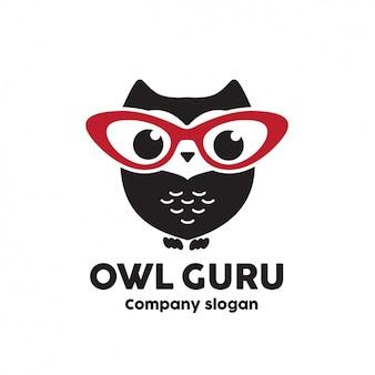 Owl logo modèle